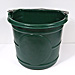 20 Quart Flat-Back Water Bucket