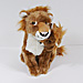 13 in. Plush Lion w Baby